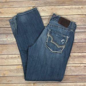 BIG STAR Distressed Pioneer Boot cut Jeans